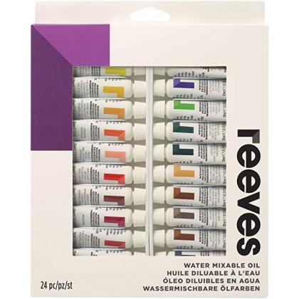 REEVES OIL COLOR PAINT 10ml TUBE SET